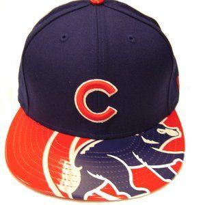 New Era Visor Shine Chicago Cubs Caps